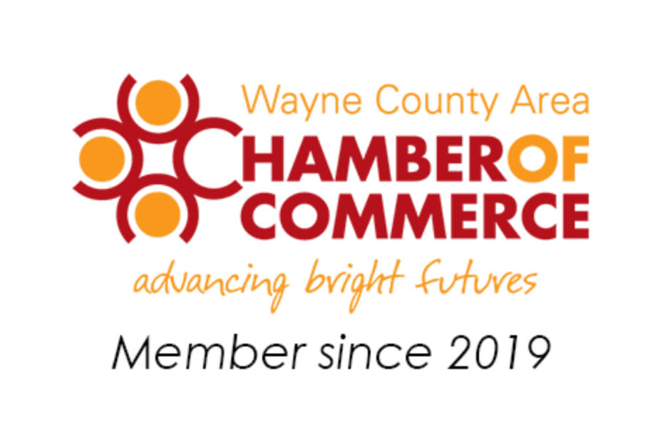 Member of Wayne County Area Chamber of Commerce